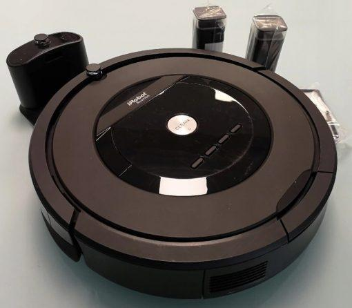 robot sprzątający iRobot Roomba 805 odkurzacz automatyczny powystawowy refabrykowany Gwarancja: 24 miesiące - 27081493 3