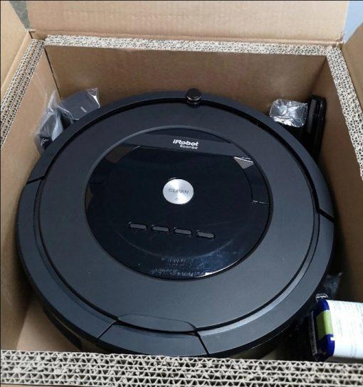 robot sprzątający iRobot Roomba 805 odkurzacz automatyczny powystawowy refabrykowany Gwarancja: 24 miesiące - 27081493 7